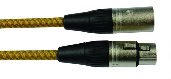 China Professional Low Noise Microphone Cable Twisted-Pair Cotton Fill Material supplier