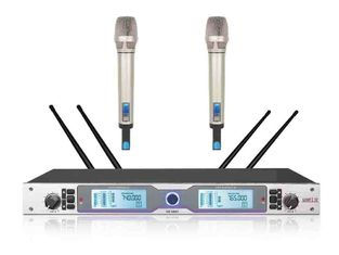 China RHOS /  UL 2 Channel Wireless Microphone System For Meetings SR-6800 supplier