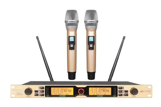 China 2 Wireless Microphone System for KTV and recreation room SR-980D supplier