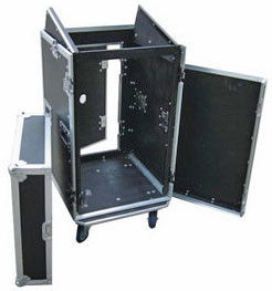 China 2 Door With Small Door Mixer Rack Case No Shock Wc3-Series Aluminum Alloy Profile supplier
