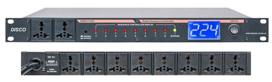 China 8 Channel Audio Power Supply Sequencer Controller with Universal Socket supplier