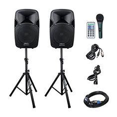 China Outdoor Active Speaker System CD-25 driver with SD Card Reader / FM Radio supplier