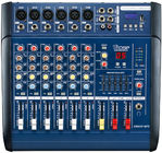 6 Channel Professional Audio Mixer for stage XR600F-MP3 , DJ Power Mixer