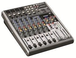 Portable Audio Mixer Stage Mixing Console 4 Channel X1204USB Premium Ultra Low Noise