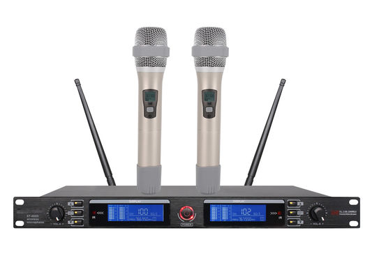 China Wireless UHF Microphone System KTV entertainment and durability tube structure ST-860D factory