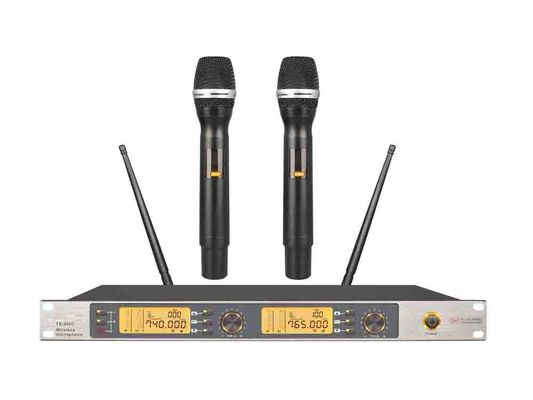China High-end UHF Wireless Microphone System with Party KTV Sing Speaker TS-950C factory