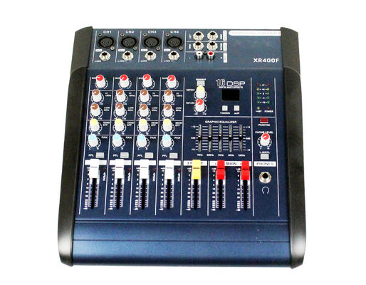 China Professional Audio Mixer SD card interface  , 4 channel audio mixer XR400F distributor