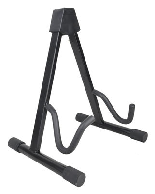 China Sturdy Convenient Guitar Stage Stand Black DG002 , Folding A-Frame Guitar Stand distributor