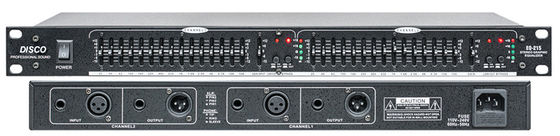 China EQ215 PRO Audio Equipment Speaker Processor Graphic Equalizer CE / RHOS distributor