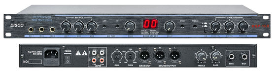 China Passive Activity Audio Karaoke Preamplifier 2.0 Channel for KTV DSP-100 distributor