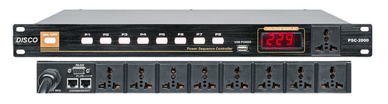China 8 Channel Psc-2000 Audio Processor Power Sequencer Controller Button Control distributor