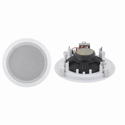 "China 2 Way Ceiling Speaker 6.5"" PA System Coaxial Speaker R108-6T CE / RHOS distributor"