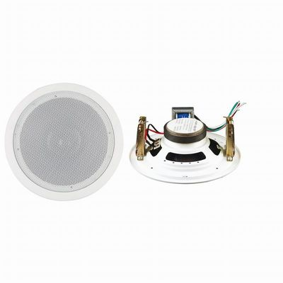 China 5 inch Passive Speaker System , 5W Commercial Ceiling Speakers distributor