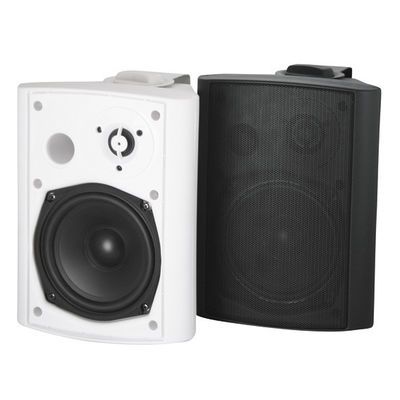 China 4 Inch Outdoor Passive Speaker System , Wall Mount Speaker Box B106-4T distributor
